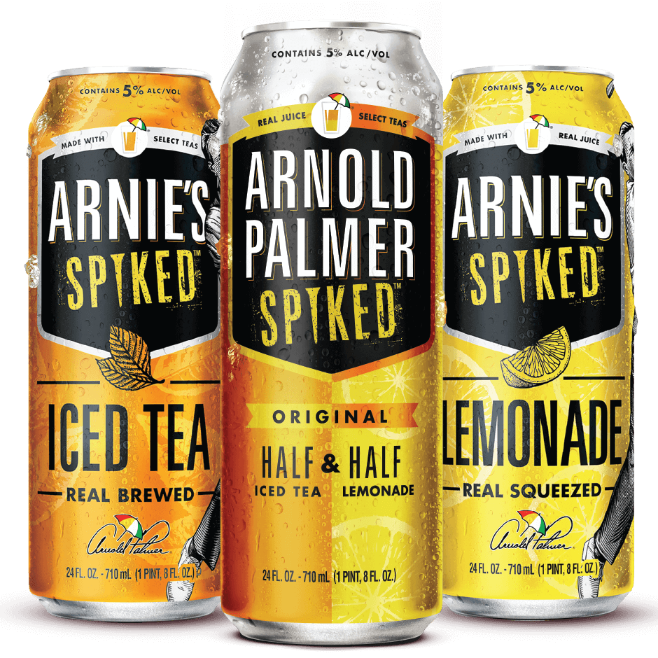 Arnold Parlmer Spiked cans