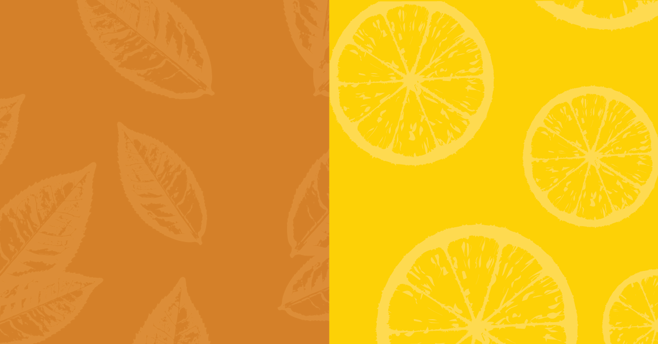 Background Orange and Lemon