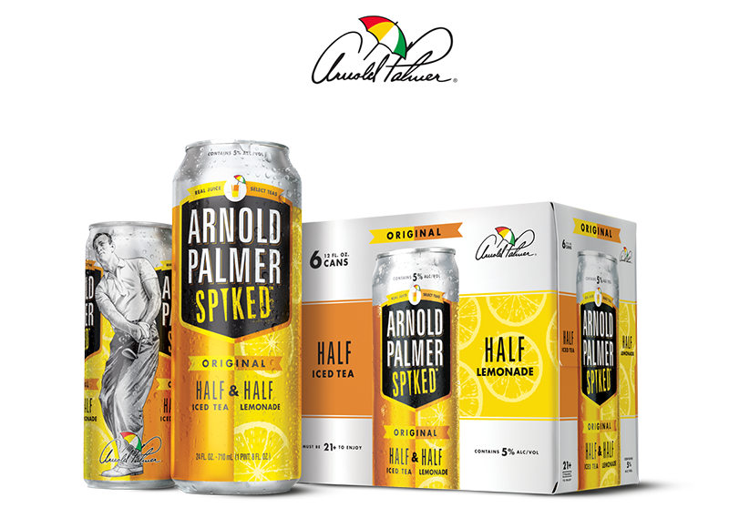 Arnold Palmer Spiked Cans